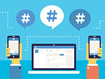 Maximizing social media engagement potential with a tailored hashtag strategy