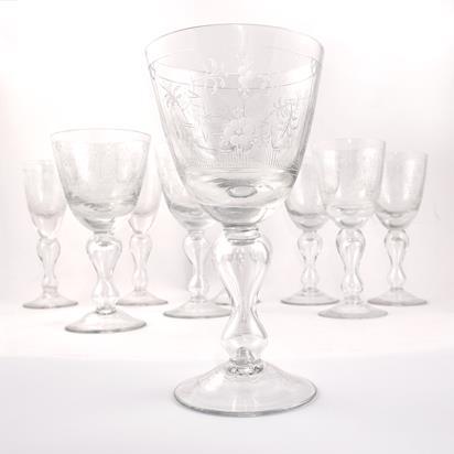 Royal Copenhagen Mussel glas