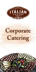 Ad: Italian Centre Shop - Corporate catering