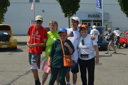 SOBC - Vancouver athletes at Dueck Auto Group.