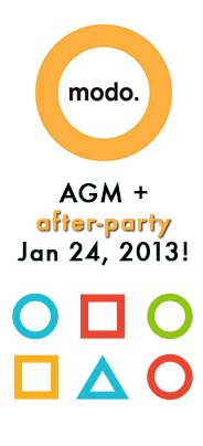 Modo AGM and After-Party 2013