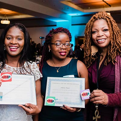 S. Renee Mitchell and co-founders of I Am M.O.R.E