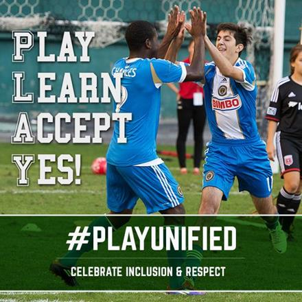 Play Unified, celebrate inclusion & respect