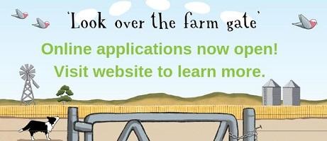Look over the farm gate
