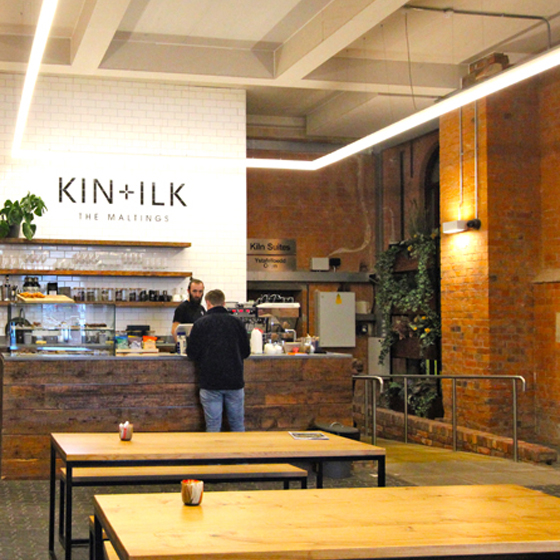 KIN+ILK The Maltings Cooke & Arkwright