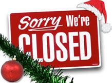 XL Christmas Shut Down