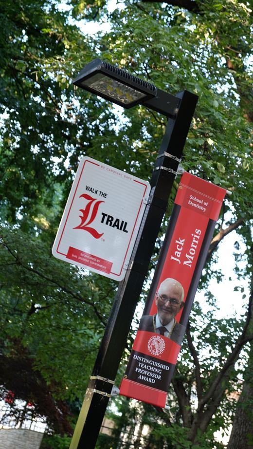 image of L trail signage