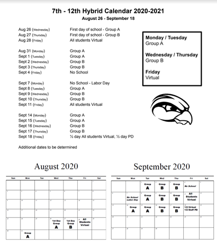 Hybrid Calendar