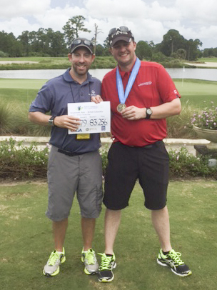 SOBC – Kelowna athlete Kyle Grummett at the 2016 Special Olympics North America Golf Championship
