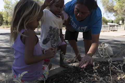 Early childhood learning in the garden