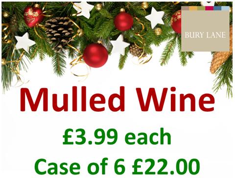 Bury Lane Farm Shop Mulled Wine Offer Winter 2018
