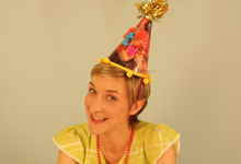Krrb Presents a How-To DIY Party Hats Video with Jessi Arrington