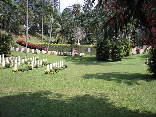 Kandy War Cemetery, Sri Lanka