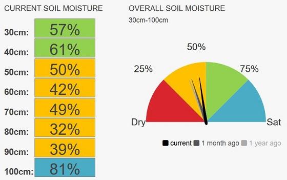 Werrimull Speedo, moisture currently 45%