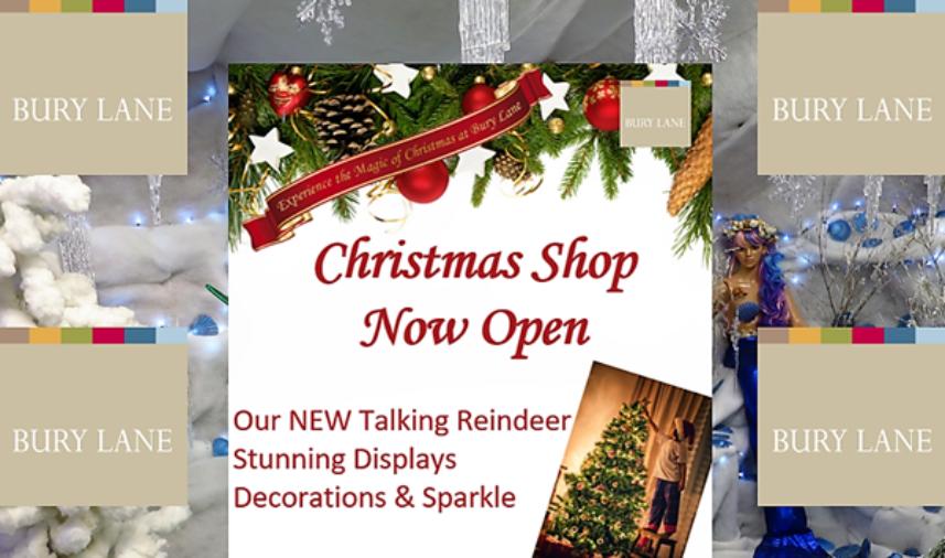 Bury Lane Farm Shop Christmas Shop Now Open