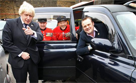 Veterans take a taxi