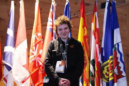 Team Canada member Katherine St. Amand