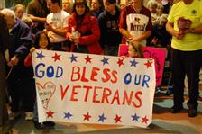 Honor flight carries WWII veterans to Washington D.C.