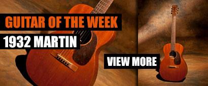 Joe's Guitar of the Week: 1932 Martin