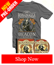 Pre-Order Joe Bonamassa Beacon Theatre Live From New York 2CD Packages NOW