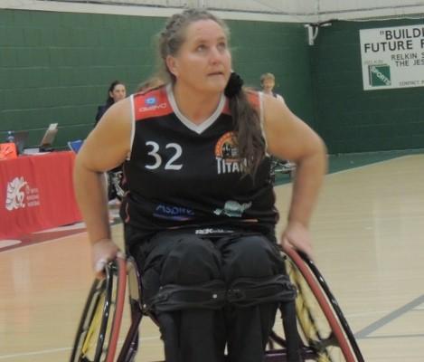 Joanna Birley basketball
