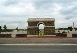 Assevillers New British Cemetery, France