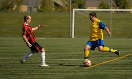 SOBC showcase match at BC Soccer Adult Provincials