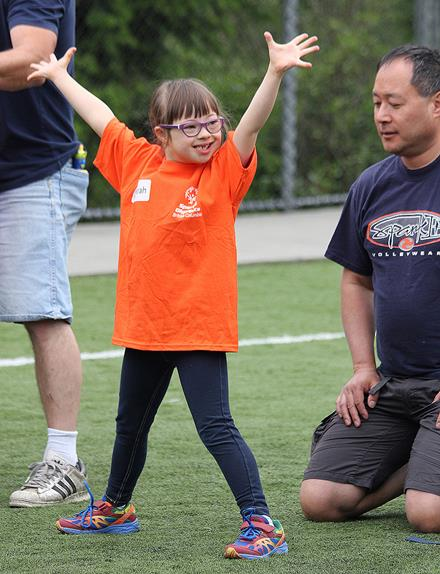 Special Olympics BC Youth Sports Day 2015