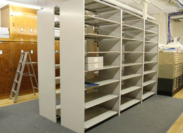 Image of new Shelving