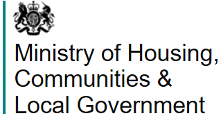 The Ministry of Housing, Communities and Local Government Logo