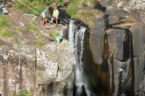 Back Creek Canyoning
