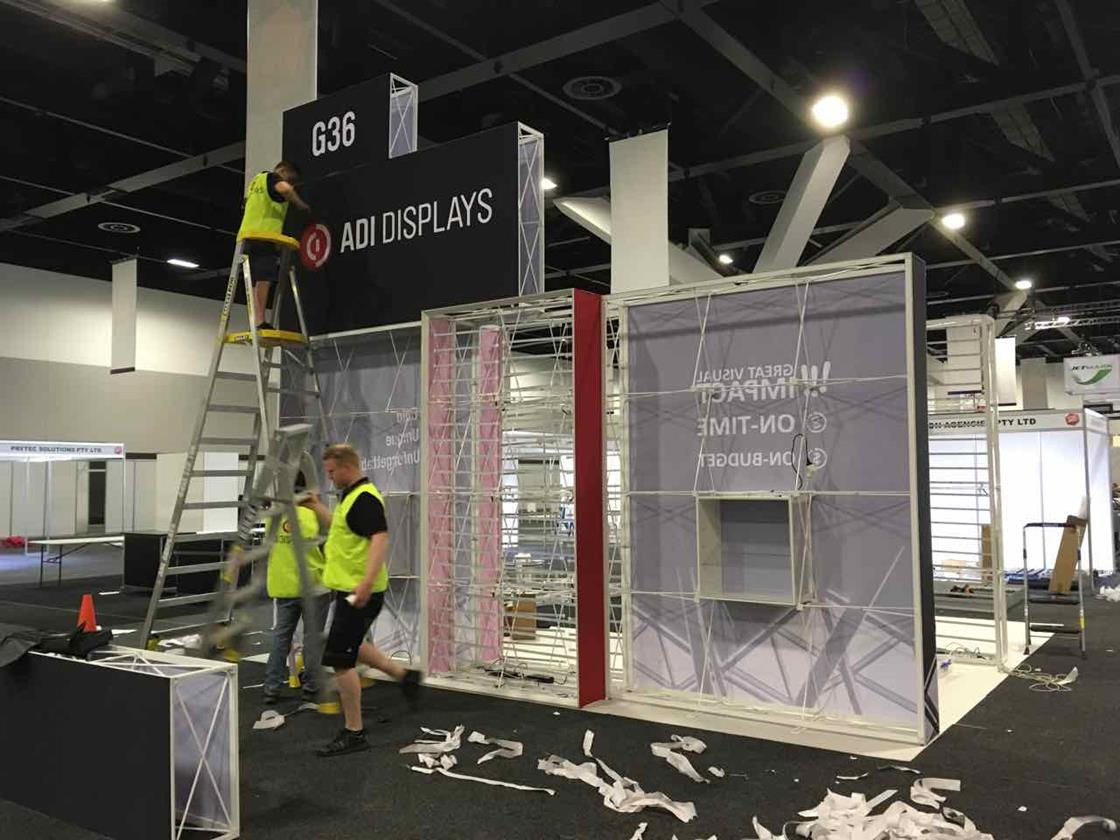 T-FPU Portable Modular Exhibits