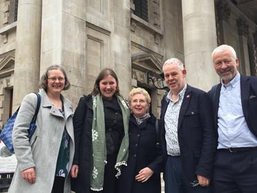 CHurch and Society team at Westminster