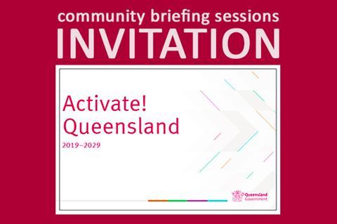 Activate! Queensland Invitation