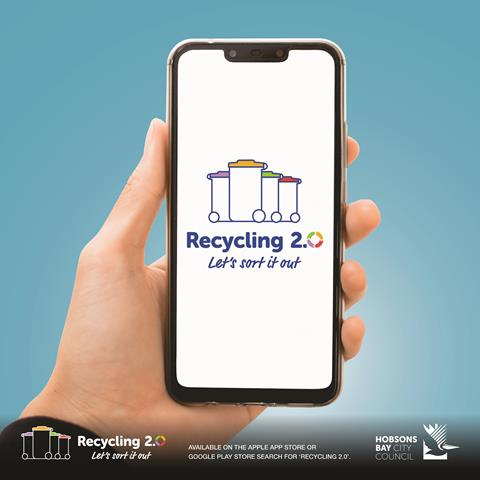 Hobson Bay Council's new Recycling 2.0 app