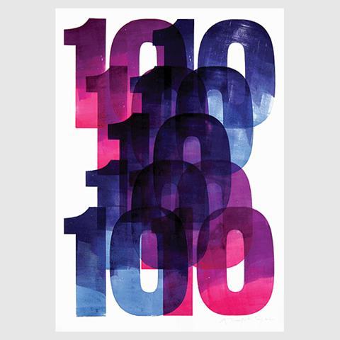 10x10 poster by Alan Kitching