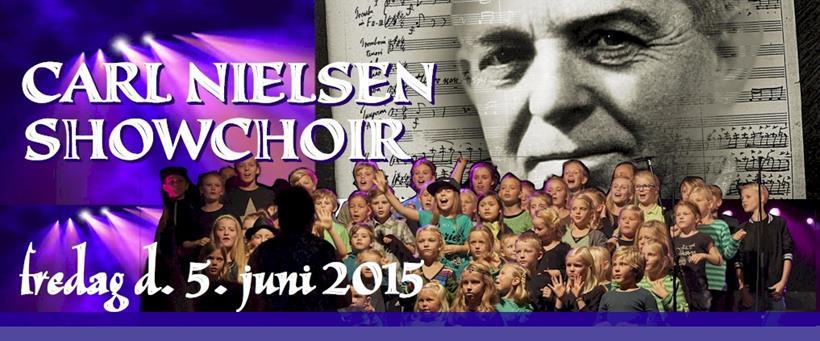 Carl Nielsen Showchoir, fredag d. 5. juni