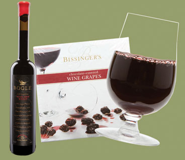 Wine Grapes And Port