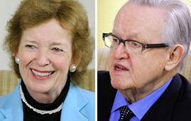 Mary Robinson and Martti Ahtisaari