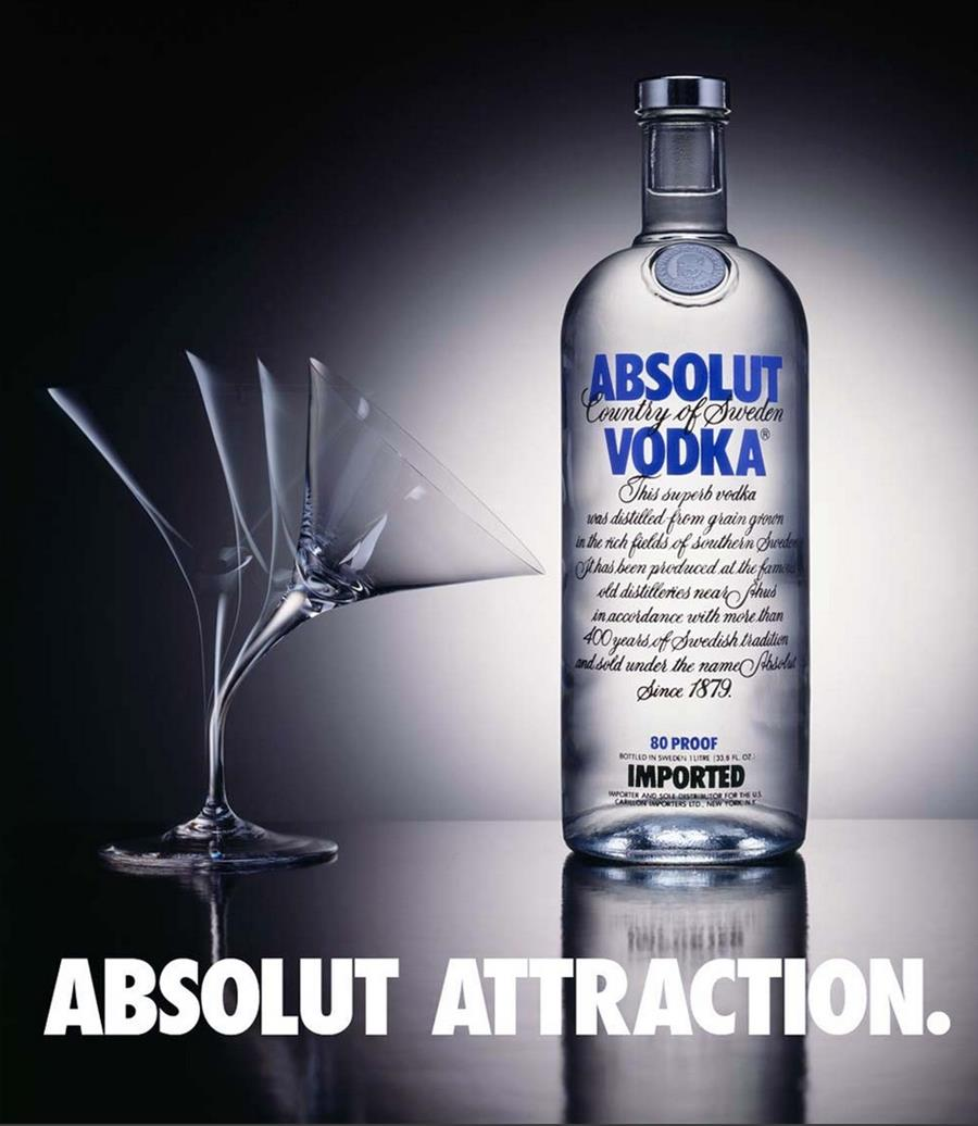 Absolut Attraction ad