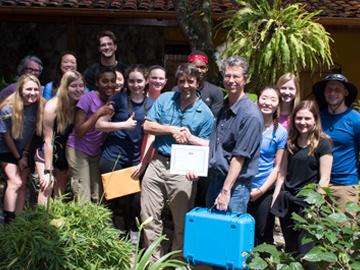 Solar Suitcase donation. © Lawrenceville School.