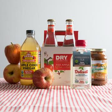 Apple soda, apple cider vinegar, and more
