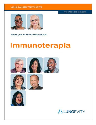 Immunotherapy booklet in Italian
