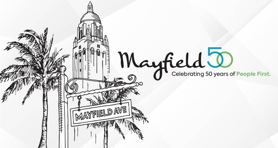 Mayfield 50 Celebrating 50 Years of People First
