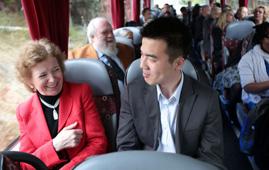 Mary Robinson and Marvin Nala