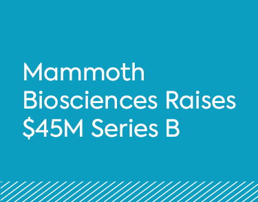 Mammoth Biosciences Raises $45M Series B