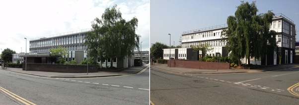 Northwich before & after