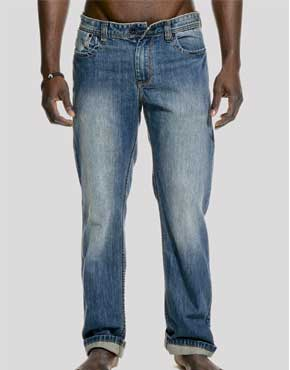 Mens Trax Relaxed Fit Denim Jeans