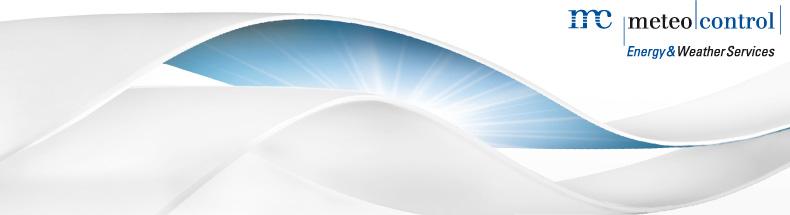 [Logo: Meteocontrol]