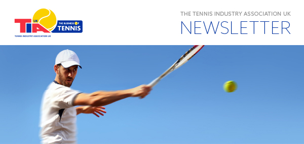 The newsletter of the Tennis Industry Association UK